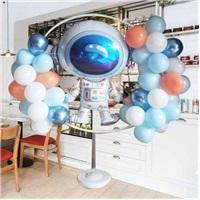 Astronot Ayaklı Çember Balon Tag