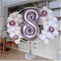 Ayaklı Çember Balon Tag