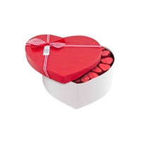Sevgililer Günü Kırmızı Kalp Kutu