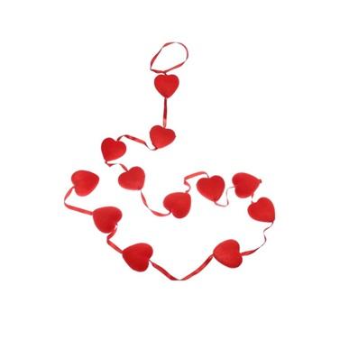 Kalp Sarkıt Süs  12'li