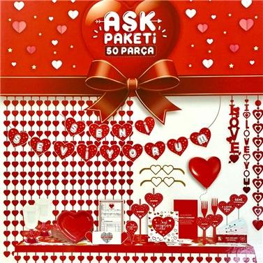 Sevgililer Günü Aşk Paketi
