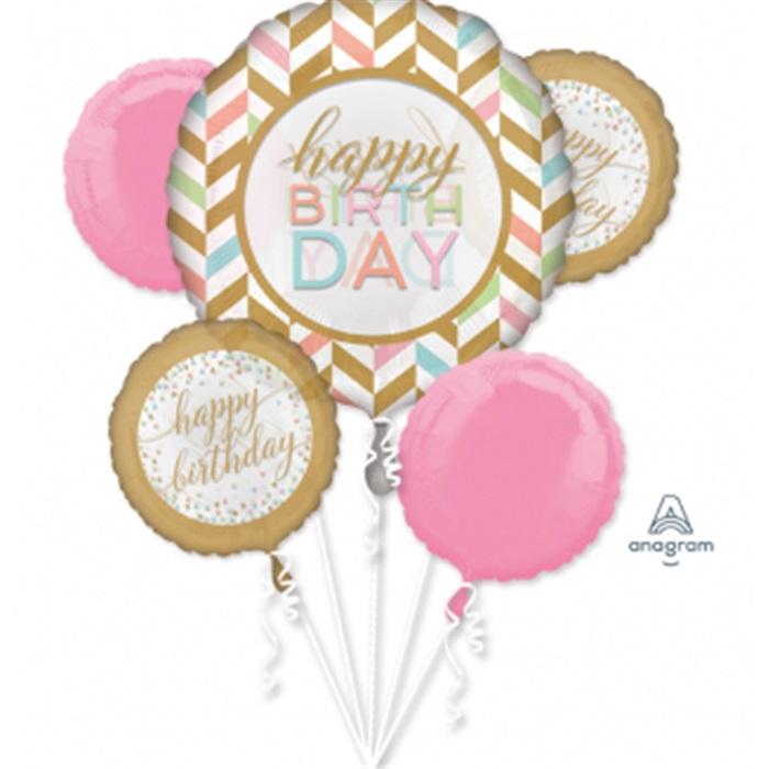 Happy Birthday Folyo Balon Demeti