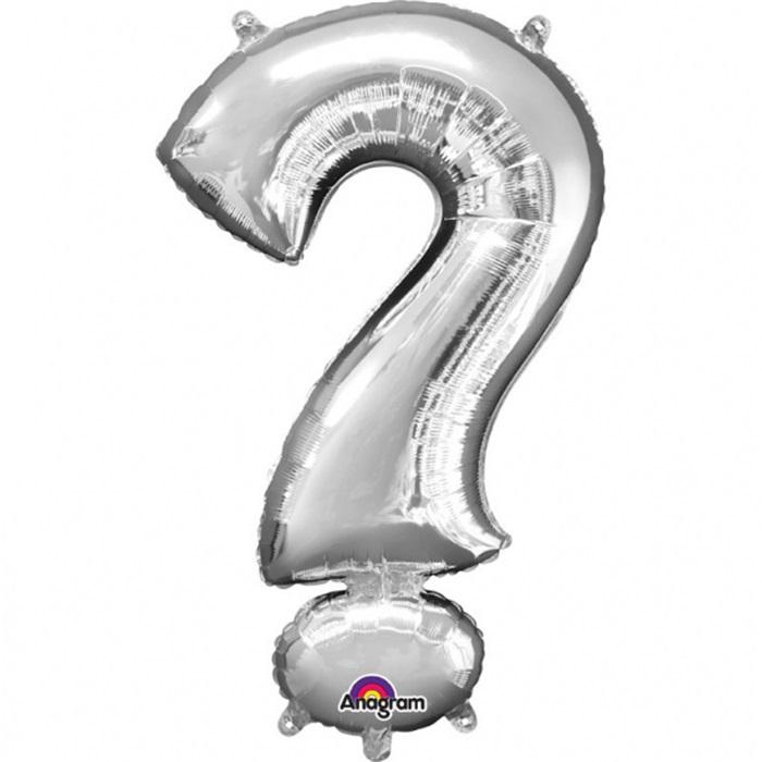 Soru İşareti Folyo Balon