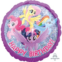 My Little Pony Happy Birthday Folyo Balon