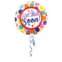 Get Well Soon (Geçmiş Olsun) Folyo Balon
