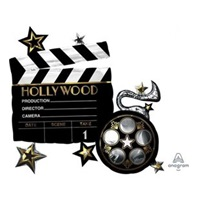 Hollywood Temalı Büyük Folyo Balon
