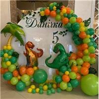 Dinozor Konseptli Balon Dekorasyon