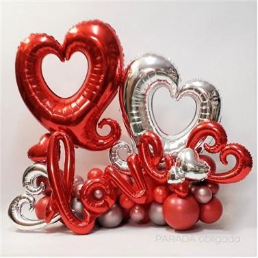 Love Konsept Balon Buket Aranjman