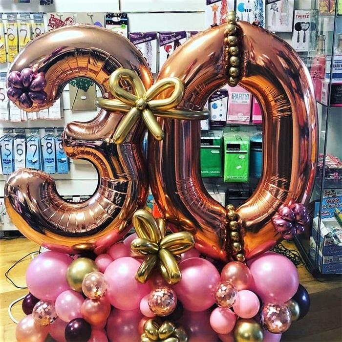 2'li Balon Buket Aranjman