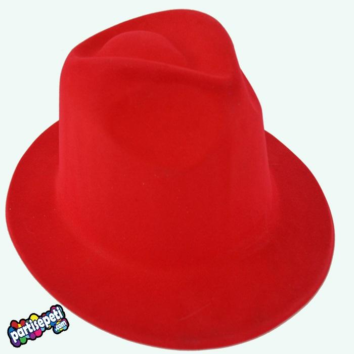 Kırmızı Fotör Parti Şapkası