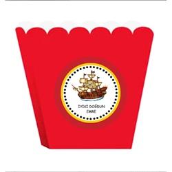 Korsan Kişiye Özel Pop Corn Kutusu