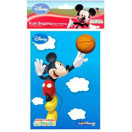Mickey Mouse Kum Boyama