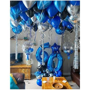 Yaş Temalı Aranjman ve Uçan Balon Süsleme
