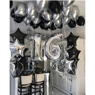 Yaş Temalı Uçan Balon Sürpriz Oda Süsleme
