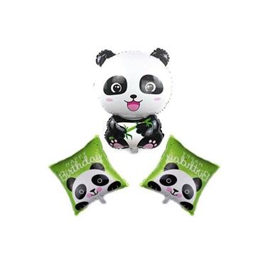 Panda Folyo Balon Set 3'lü