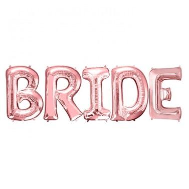 Bride Yazılı Folyo Balon