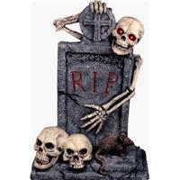 Halloween Mezar Taşı Dekor Pano