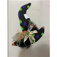 Halloween Cadı Şapkası Kapı Süsü