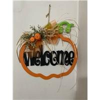 Halloween Welcome Yazılı Kapı Süsü