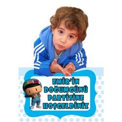 Pepe Kişiye Özel Ayaklı Karşılama Pankartı