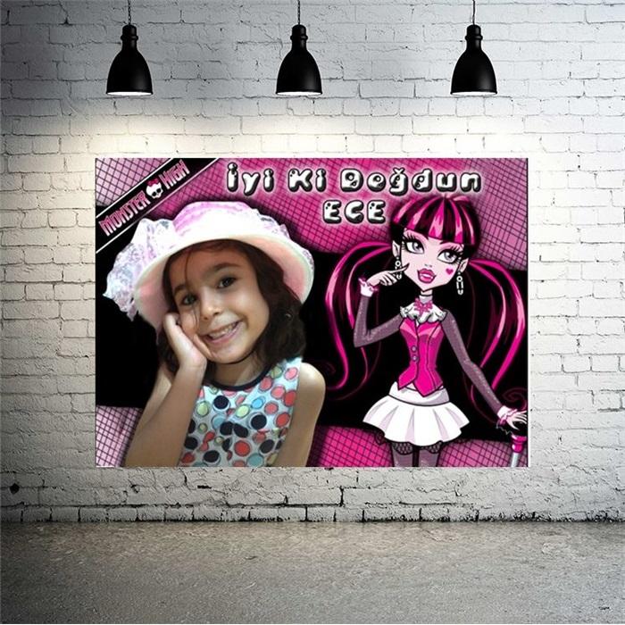 Monster High Kişiye Özel Afiş