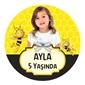 Maya Kişiye Özel Yapışkanlı Sticker