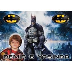 Batman Temalı Kişiye Özel Afiş