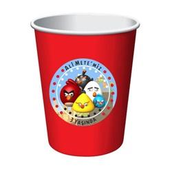 Angry Birds Kişiye Özel Bardak 16 lı