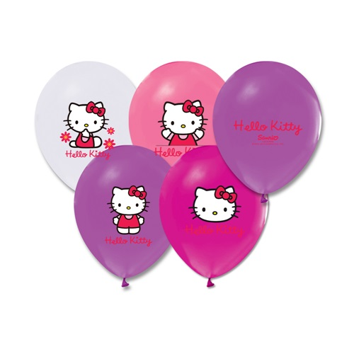 Hello Kitty Baskılı Balon