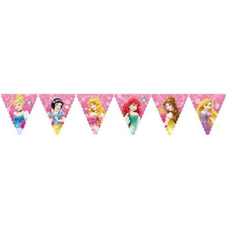 Prensesler Temalı Bayrak Set