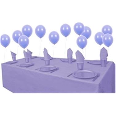 Lila Doğum Günü Parti Seti