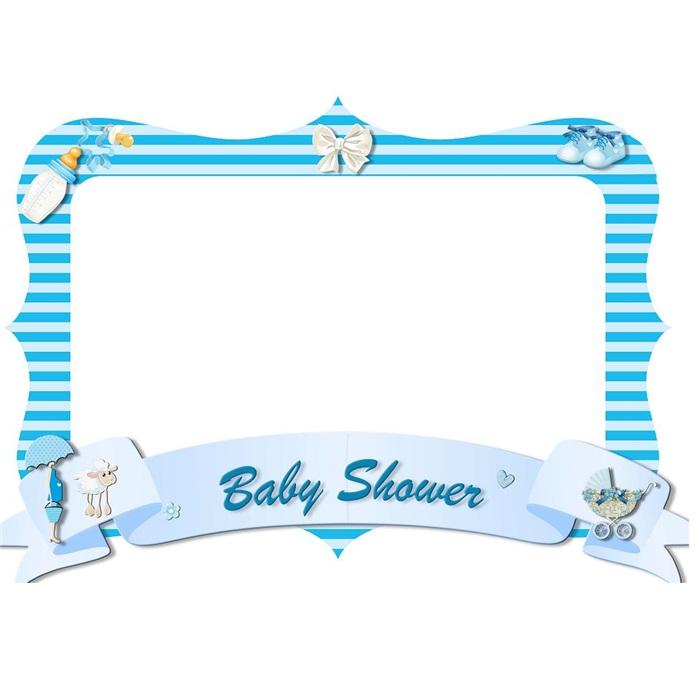 baby shower fotoğraf çerçevesi