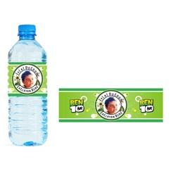 Ben 10 Temalı Kişiye Özel Su Şişesi Etiketi