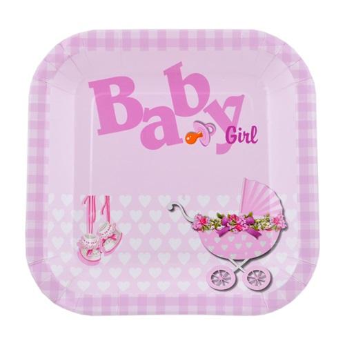 Baby Girl Kare Tabak