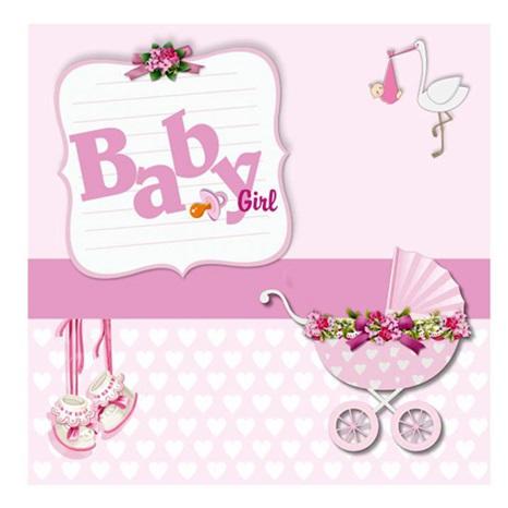 Baby Girl Peçete