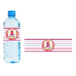 1 Yaş Temalı Kız Su Şişesi Bandı