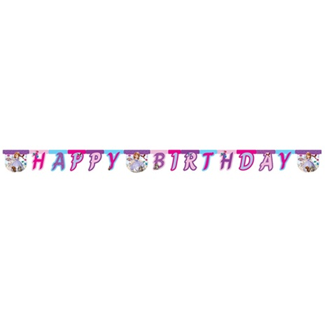 SOFİA THE FİRST HAPPY BİRTHDAY BANNER
