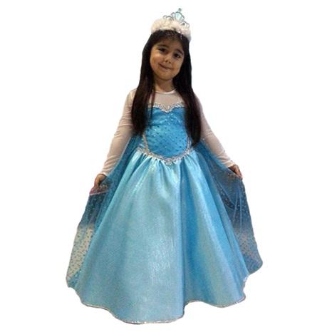 Karlar Ülkesi Elsa Kostüm