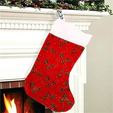 Yılbaşı Noel Çorap Desenli