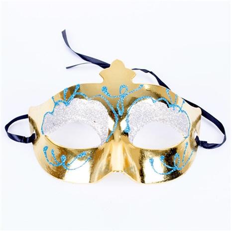 Yılbaşı Parti Maske Sarı