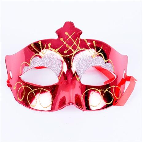 Yılbaşı Parti Maske Kırmızı