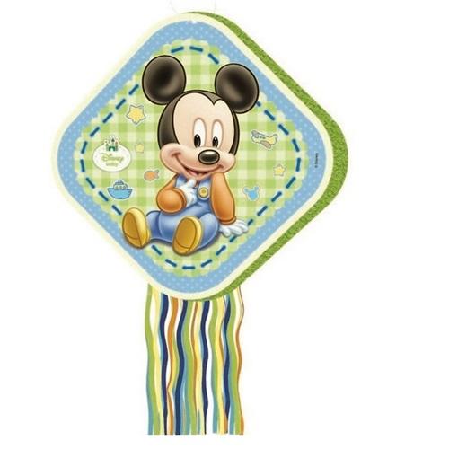 Mickey Baby Pinyata + Sopası