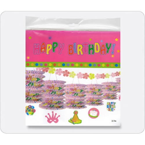 Sıralı Fener Happy Birthday Süs