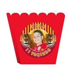 Aslan Kişiye Özel Popcorn Kutusu