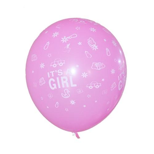 Its A Girl Şeker Pembesi Balon