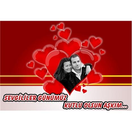 Sevgililer Günü Kişiye Özel Afiş 100*70