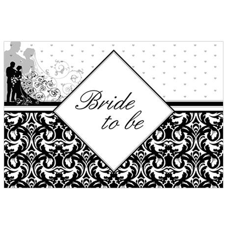 Bride To Be Kişiye Özel Afiş