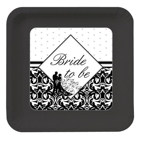Bride To Be Kişiye Özel Tabak