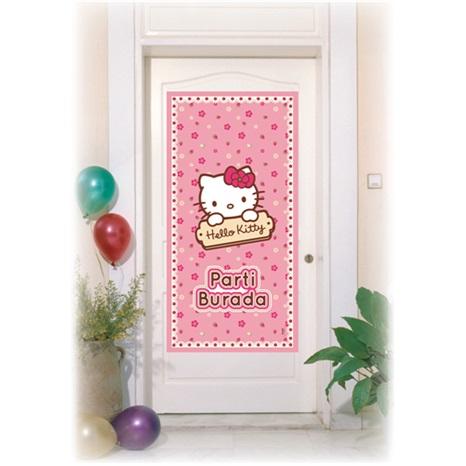 Hello Kitty Kapı Banner
