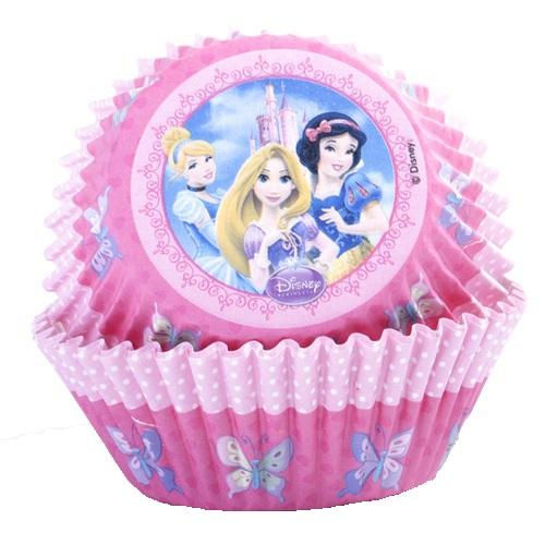 Prenses Temalı Cupcake Kabı